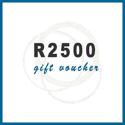 R2500 Gift Voucher