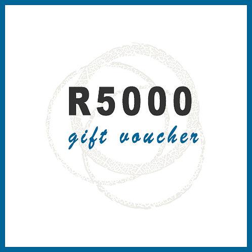 R5000 Gift Voucher