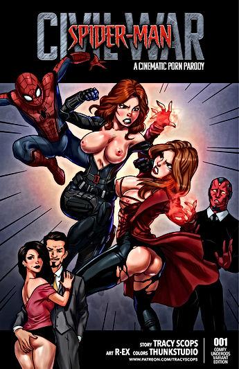 Spiderman - Civil war