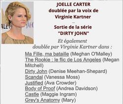 Joelle Carter/Virginie Kartner