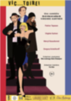 "Nouvell affiche spectacle ""Victoire"" de Virginie Kartner"