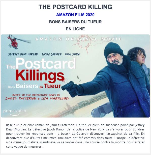 Bons Baisers du tueur. Amazon Films.