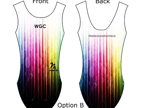 WGC GIRLS -Limited edition Milano leotard