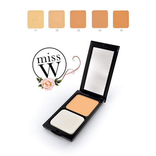 Fond  de teint compact minéral - No. 15 -  Beige ambré