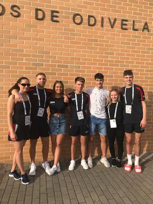 Saltire GB Gymnasts and Coach 2018.jpg