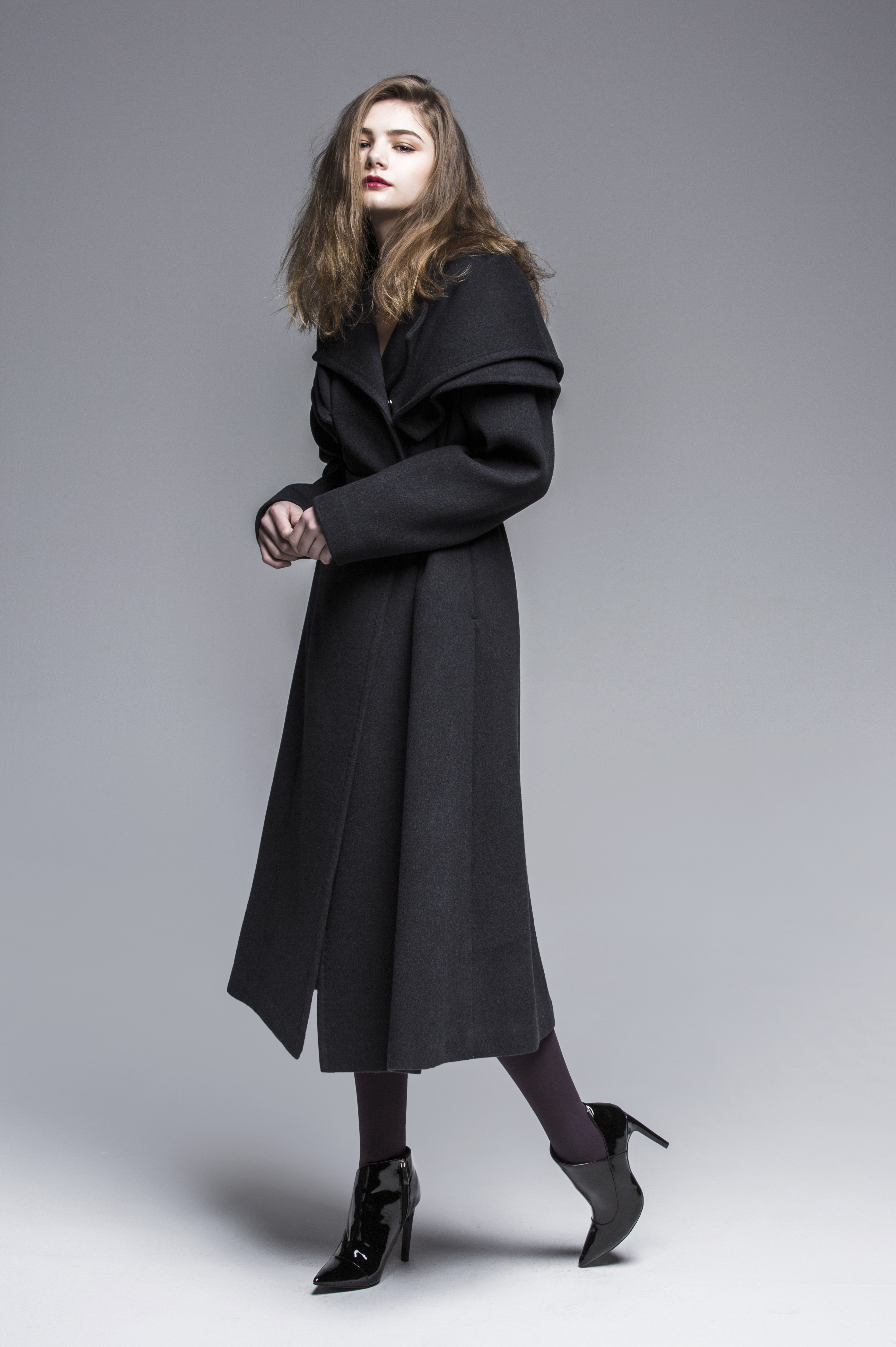 Wide Wrap Shawl Coat