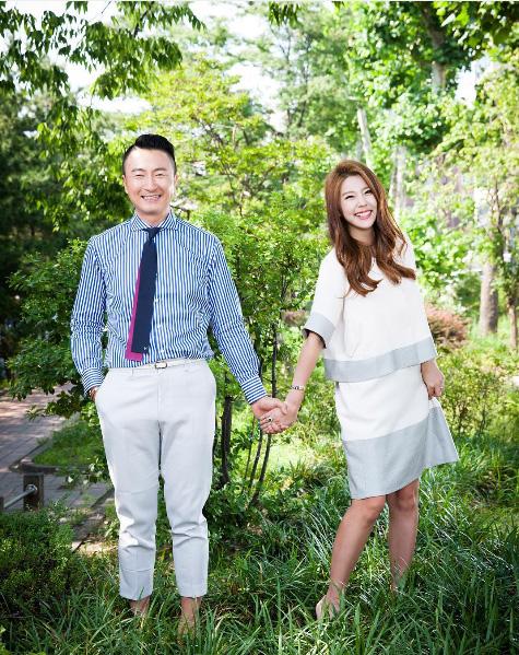 기독교 월간지 '빛과 소금' 표지모델 이윤미