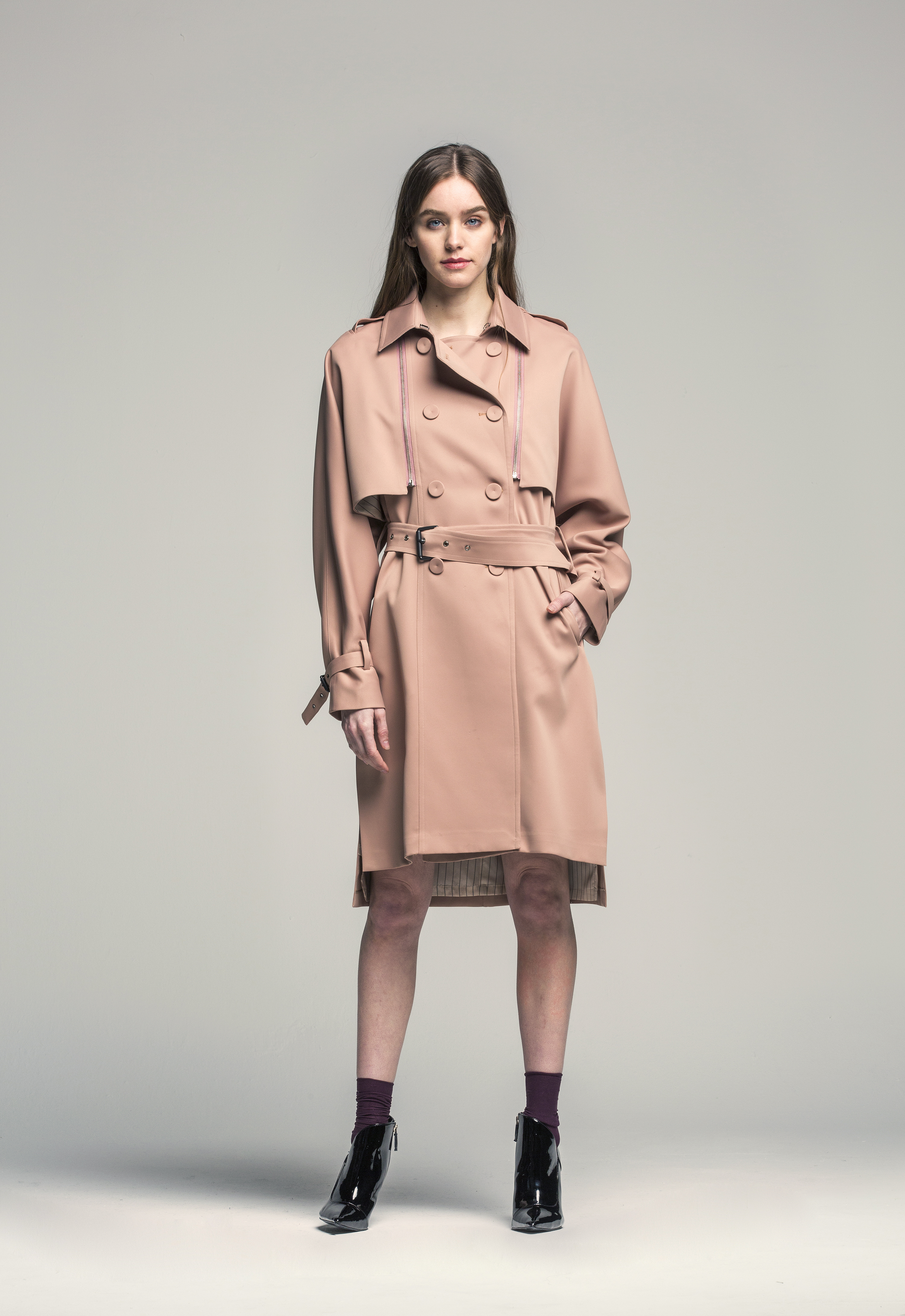 Detachable Trench Coat
