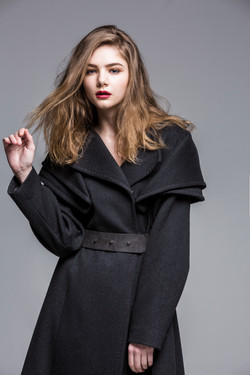 Wide Wrap Shawl Coat