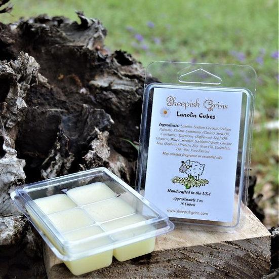 Lanolin Cubes Wool Care Lanolize Sheepish Grins All-Natural Eco-Friendly Handmade Bath & Body Boerne San Antonio Texas