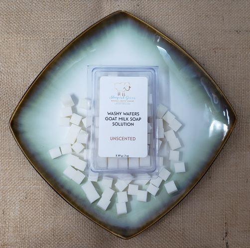 Washy Wafers Sensitive Wipes Solution Sheepish Grins Natural Eco-Friendly Handmade Bath & Body Boerne San Antonio Texas