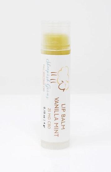 CBD Hemp Oil Lip Balm Sheepish Grins All-Natural Eco-Friendly Handmade Bath & Body Boerne San Antonio Texas