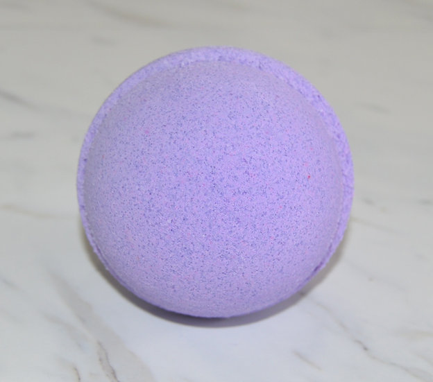 CBD Hemp Oil Lavender Bath Bomb Sheepish Grins All-Natural Eco-Friendly Handmade Bath & Body Boerne San Antonio Texas