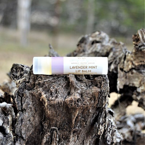 Lavender Mint Lip Balm Sheepish Grins Natural Eco-Friendly Handmade Bath & Body Boerne San Antonio Texas