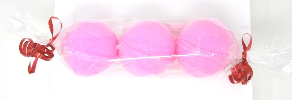 Pinkberry Mimosa Bath Bomb Sheepish Grins Natural Eco-Friendly Handmade Bath & Body Boerne San Antonio Texas