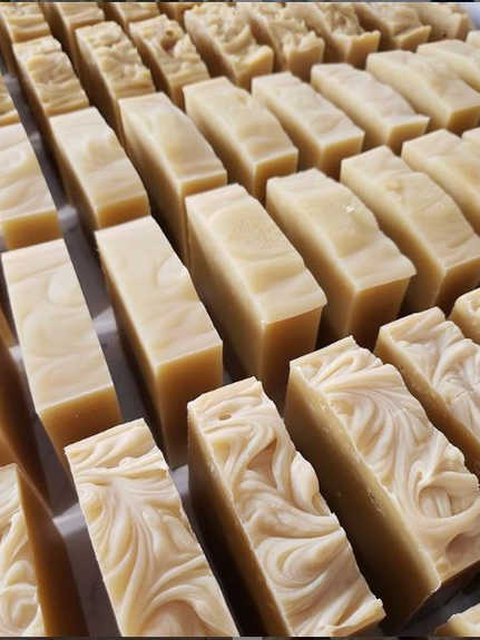 all natural goat's milk bar soap _ handm
