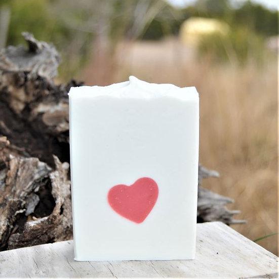 Goat Milk Soap Bar Affection  Sheepish Grins  Handmade All-Natural Eco-Friendly Bath & Body Boerne San Antonio Texas