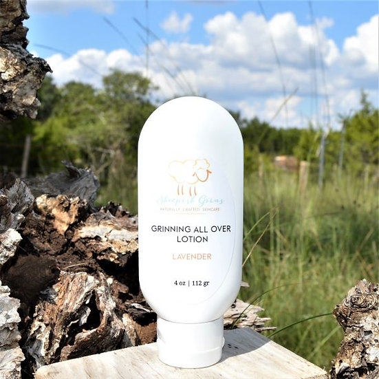 Moisturizing Lotion Lavender Sheepish Grins All-Natural Eco-Friendly Handmade Bath & Body Boerne San Antonio Texas