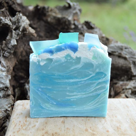 Goat Milk Soap Sea Glass Sheepish Grins All-Natural Eco-Friendly Handmade Bath & Body Boerne San Antonio Texas