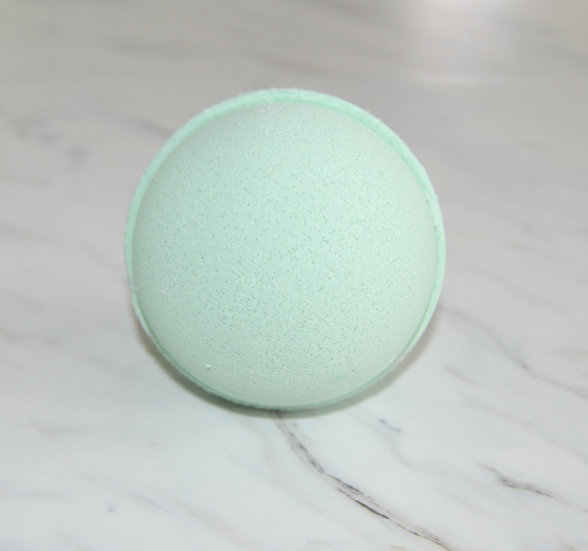 Rosemary Mint Bath Bomb Sheepish Grins Natural Eco-Friendly Handmade Bath & Body Boerne San Antonio Texas