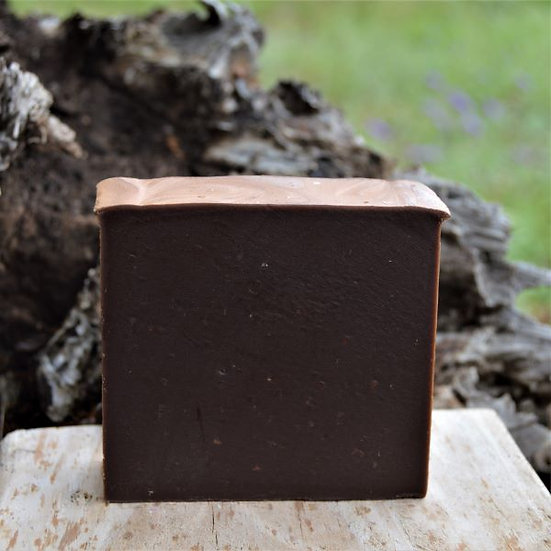 Goat Milk Soap Chocolate Peppermint Sheepish Grins  Handmade All-Natural Eco-Friendly Bath & Body  Boerne San Antonio Texas