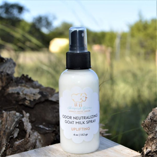 Odor Neutralizing Goat Milk Body Spray Sheepish Grins Handmade All-Natural Eco-Friendly Bath & Body Boerne San Antonio Texas