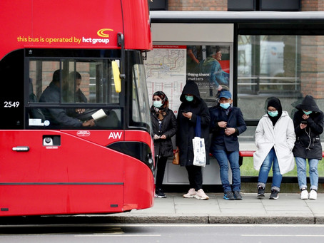 Avoiding Public Transport in a Pandemic