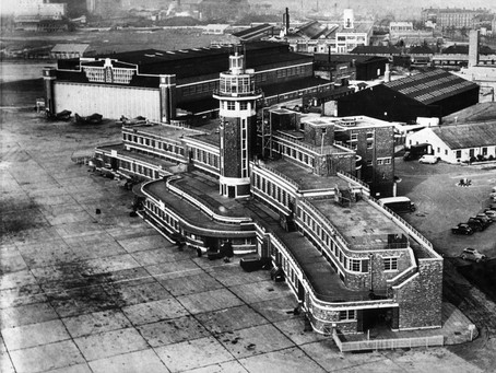 Brief History of Liverpool Airport