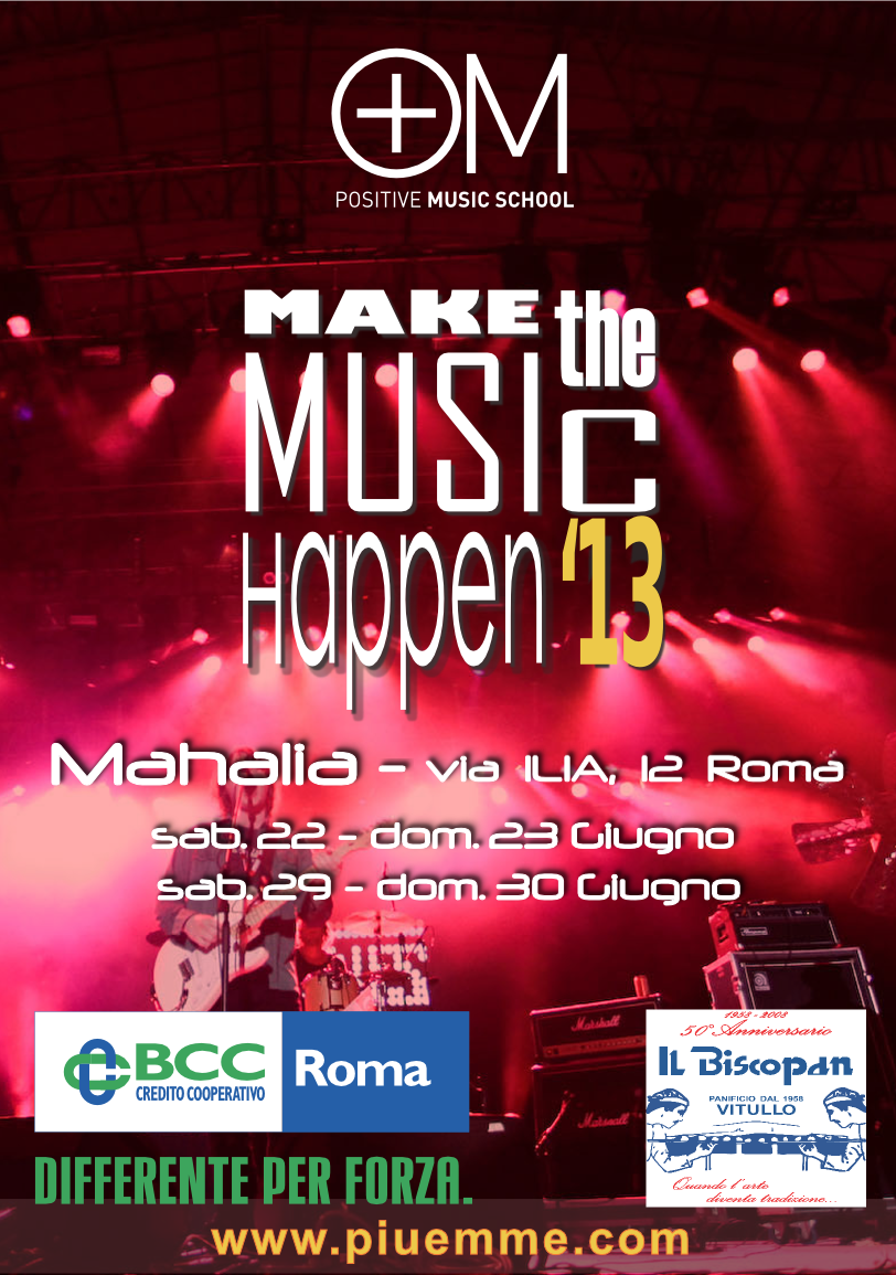 make the music happen 2013