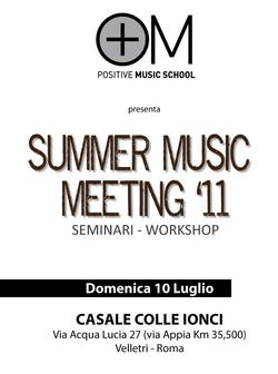 summer music meeting 2011