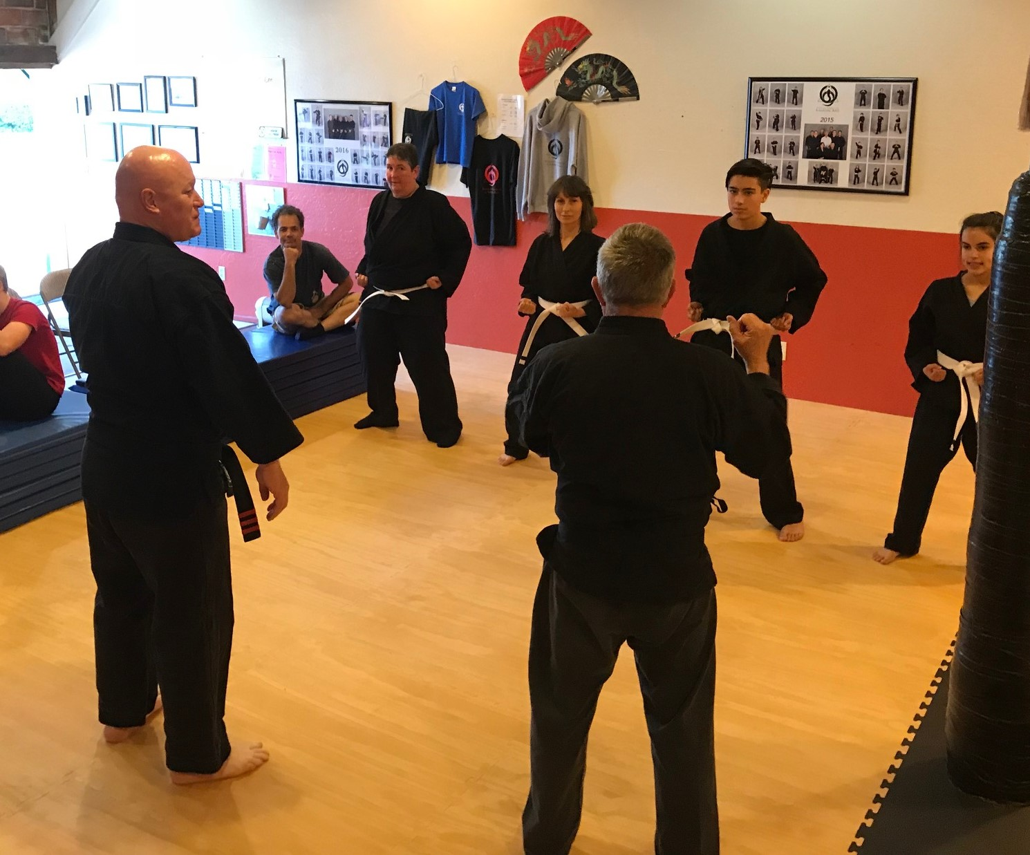 First Belt Test