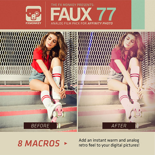 Faux 77 - Macro Pack for Affinity Photo