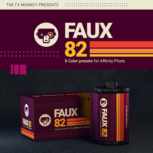 Faux 82 - Macro Pack for Affinity Photo