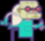 Frankentoon Affinity Designer Illustration