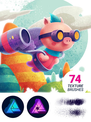 Texturizer Pro 1.6 - Affinity Designer/Photo