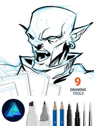 Comic Book Kit - Affinity Designer