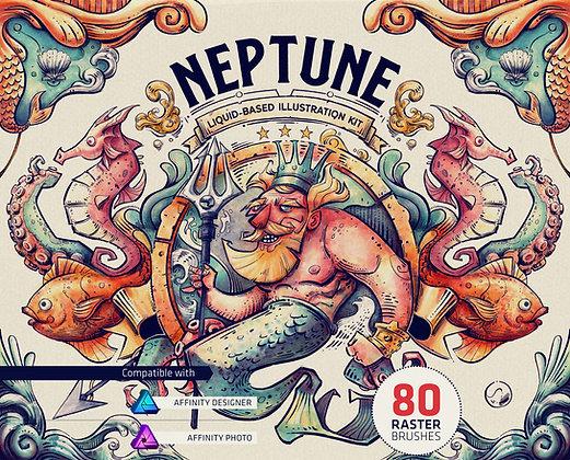 Neptune Illustration Kit for Affinity