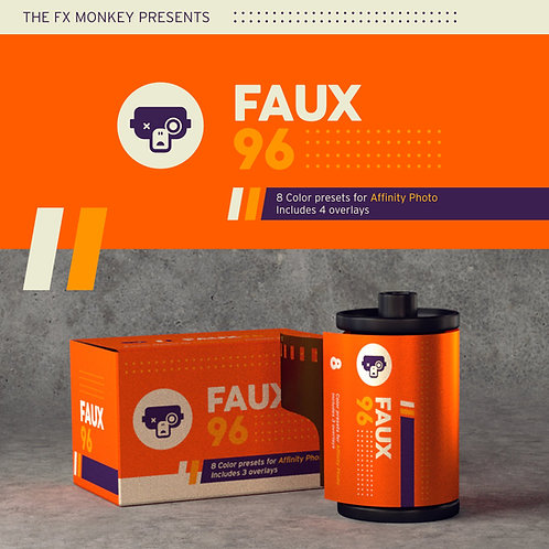Faux 96 - Macro Pack for Affinity Photo