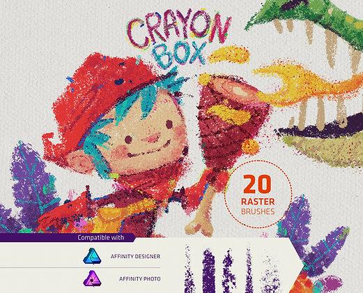 Crayon Box for Affinity Photo/Designer