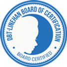 DBT Linehan Board of Certification - Board Certified Logo - MiMo Psychotherapy Group Miami