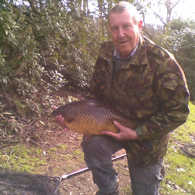 Bill Jones with a nice common.jpg