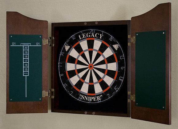 Classic Dartboard Cabinet - 4 Colors