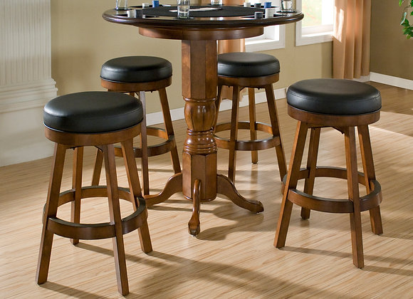 30 Inch High Classic Backless Bar Stool - 2 Colors