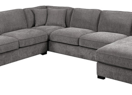 Repose 3 Piece Sectional - Charcoal