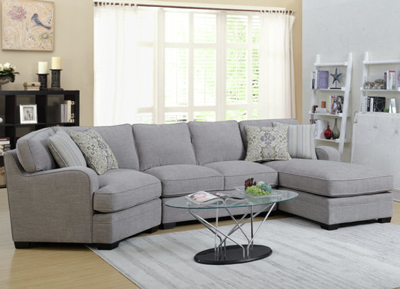 Analiese 3 Piece Sectional with Corner Chair and Chaise
