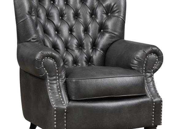 Capone Accent Chair - Platinum