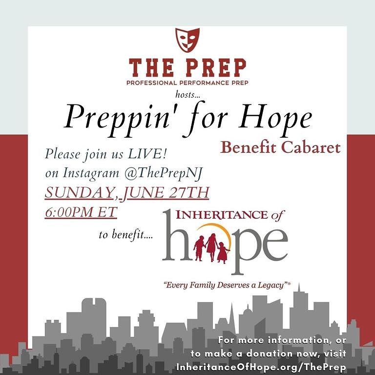Preppin' For Hope - Live Benefit Cabaret