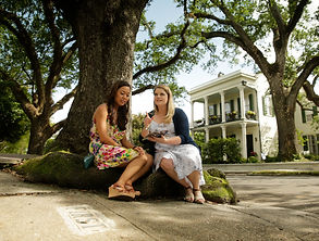 Girls in the Garden District - Photo by