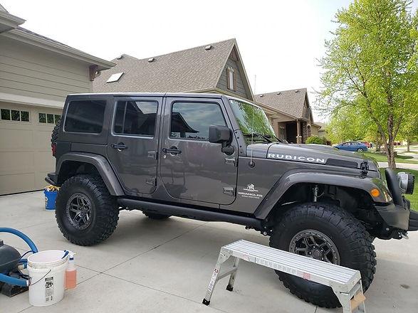 Exterior detail jeep omaha