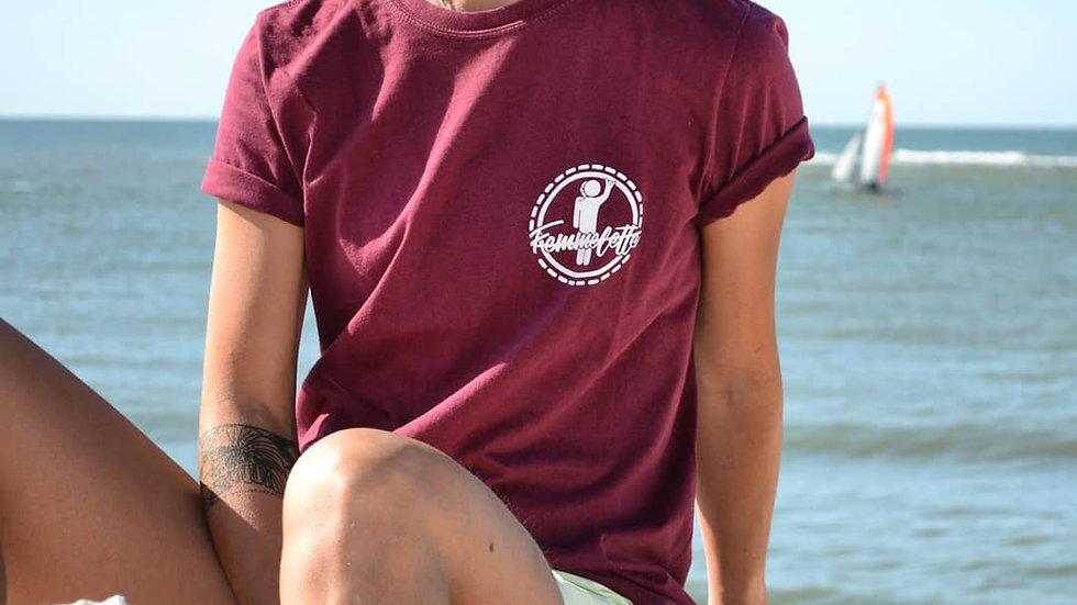 T-shirt BORDEAUX W/LOVE